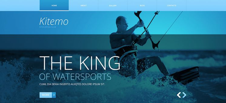 Website designs for Outdoor and Adventure Companies